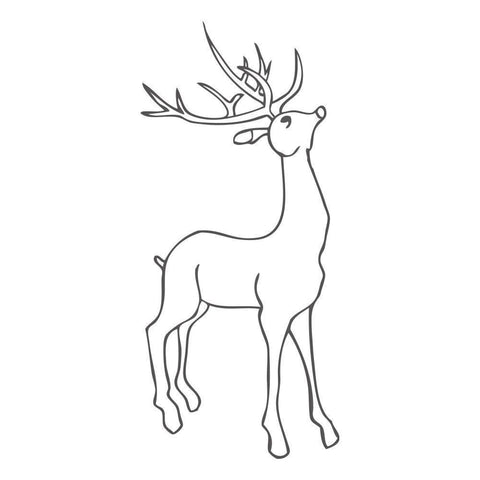 Large Deer Standing ClarityMask