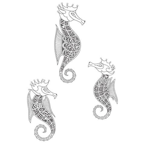Filigraphy Seahorses ClarityMask