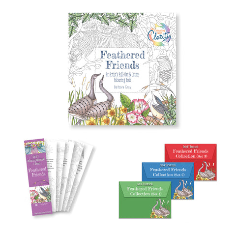 Colouring Book, Bookmarks & Postcards Bundle