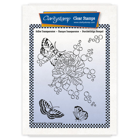 Cherry's Create Art in Colour Complete Montage A6 Stamp & Mask Set