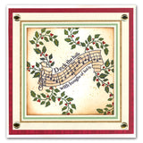 Deck the Halls Unmounted Clear Stamp Set