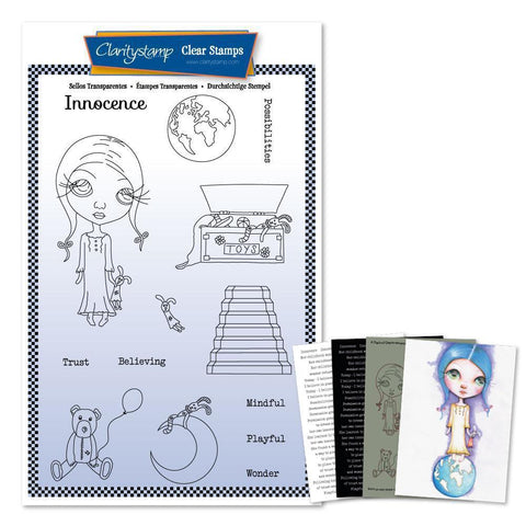 Dee's Innocence <br/> A5 Unmounted Stamp Set