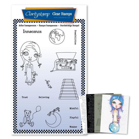 Dee's Innocence A6 Unmounted Stamp Set