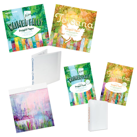 Waimea Falls & Toscana Designer Paper & Card Complete Collection <br/>+ Barb's Favourite Toscana Paper Pack