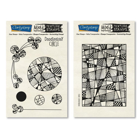 Doodleology Circle - Mixed Impressions <br/>Unmounted Clear Stamp Set