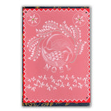Christmas Doves Groovi® Plate A5