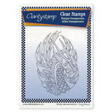 Dragon + MASK <br/>Unmounted Clear Stamp