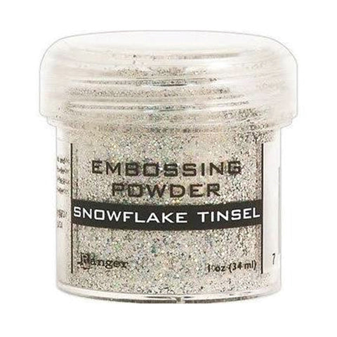 Embossing Powder - Snowflake Tinsel