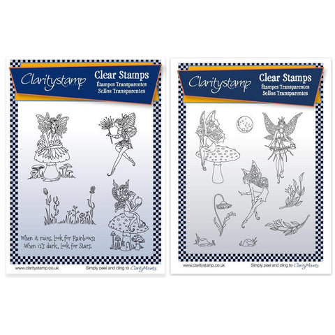 Fairies + MASKS <br/>Unmounted Clear Stamp Set