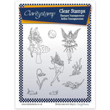 Fairies 2 - Moon + MASK <br/>Unmounted Clear Stamp Set