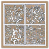 Fairies Three Way Overlay Collection <br/>Unmounted Clear Stamp Sets <br/>+ FREE Pack of 4 New Square Mounts!