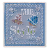 Fashion Phrases & Elegant Expressions <br/>A5 Square Groovi Plate Set