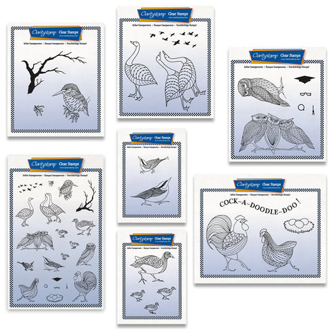 Feathered Friends Stamp & Mask Complete Collection