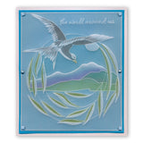 Feathered Friends <br/>Groovi Plate A5 Square <br/>(Set GRO-BI-40574-03)