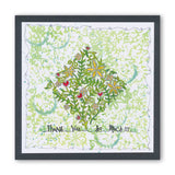 Floral Forest Three Way Overlay Unmounted Clear Stamp Set