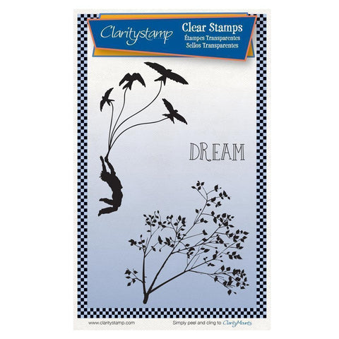 Fly Away Unmounted Clear Stamp Set