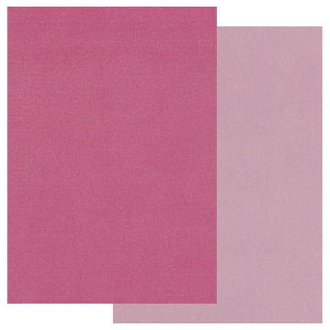 Pink A4 Two Tone Parchment Paper x10
