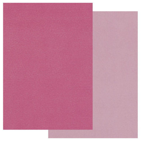 Pink x20 <br/> Groovi Two Tone Parchment Paper A5