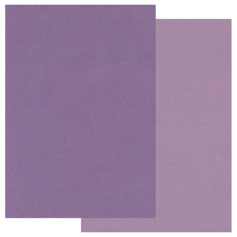 Purple x20 Groovi Two Tone Parchment Paper A5