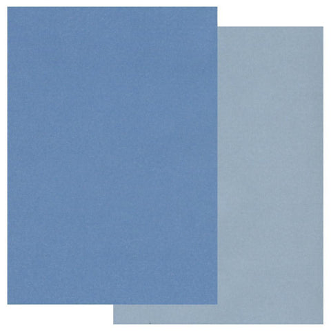Blue A4 Two Tone Parchment Paper x10