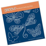 Baby Tina's Dragonfly Fun <br/>A6 Square Groovi Plate