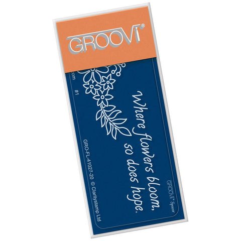 Flower Rounds Spacer <br/>Groovi Go! Spacer Plate <br/>(Set GRO-FL-41055-01)