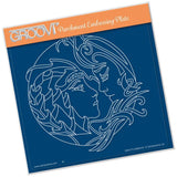 Earth Element <br>A5 Square Groovi Plate <br/>(Set GRO-FY-40698-03)