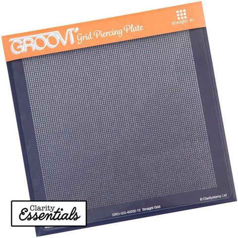 Straight Basic <br/>A5 Square Groovi Piercing Grid