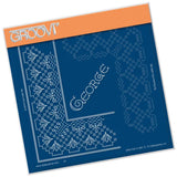 King George Lace Duet <br/>A5 Square Groovi Piercing Grid