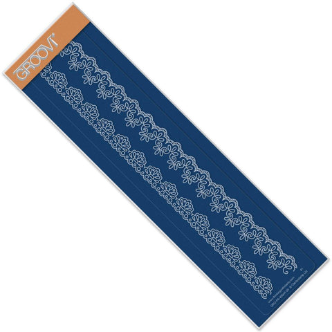Lace 1 <br/>Groovi Border Plate <br/>(Set GRO-PA-40127-09)