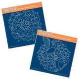 Autumn Rounds <br/>A5 Square Groovi Plate Set