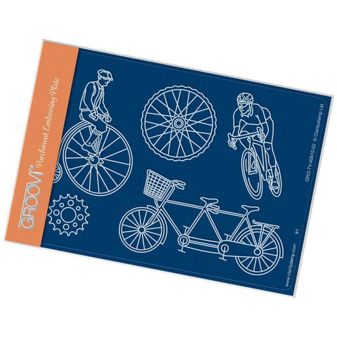 Cycling <br/>A6 Groovi Plate <br/>(Set GRO-TV-40687-02)