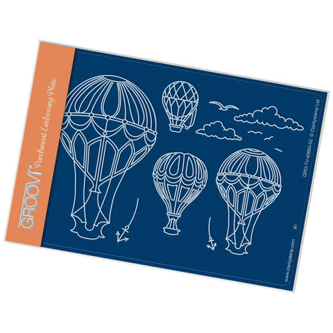 Ballooning <br/>A6 Groovi Plate <br/>(Set GRO-TV-40687-02)