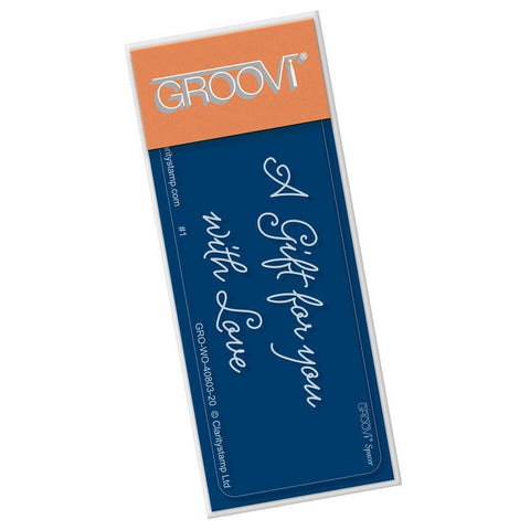 A Gift for You Groovi Go! Spacer Plate (Set GRO-CH-40821-01)