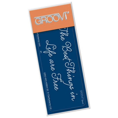The Best Things <br/>Groovi Go! Spacer Plate <br/>(Set GRO-TR-40822-01)