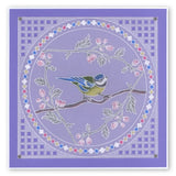 Garden Birds A6 Square Groovi Baby Plate Set