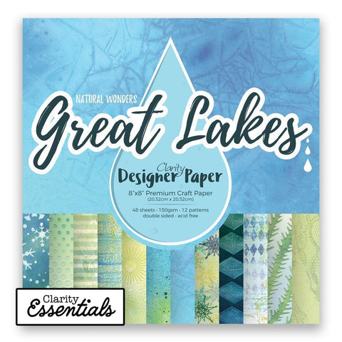 "Great Lakes Designer Paper Pack 8"" x 8"""
