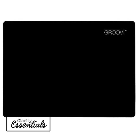 Black Dual-Purpose Groovi Mat A4