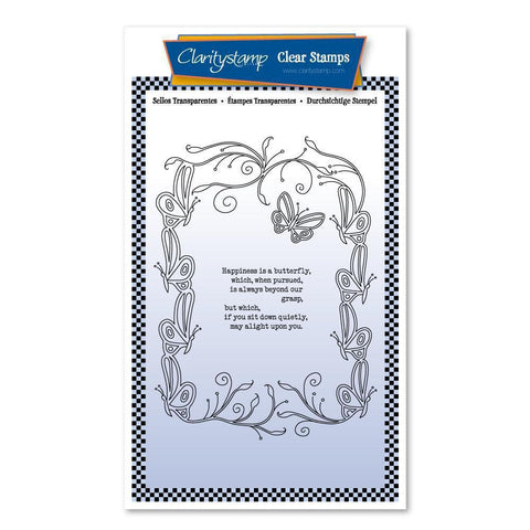 Happiness Is A Butterfly A6 Poetry Stamp Set