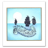 I Saw Three Ships Unmounted Clear Stamp Set
