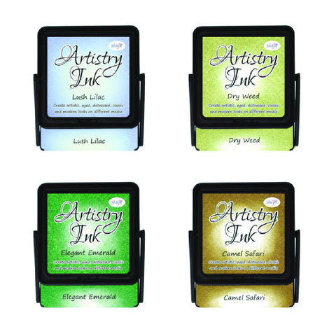 Artistry Ink Pads - Lush Lilac (Set of 4)
