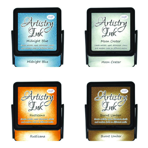 Artistry Ink Pads - Midnight Blue (Set Of 4)