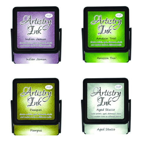 Artistry Ink Pad - Indian Jamun (Set Of 4)