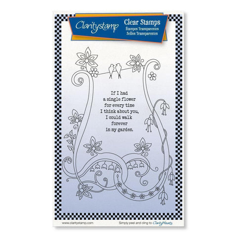 If I Had a Flower <br/>Unmounted Clear Stamp Set