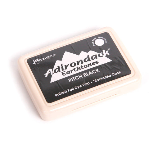 Adirondack Ink Pad - Pitch Black