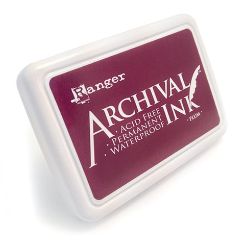 Archival Ink Pad - Plum