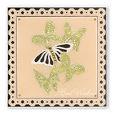 Jayne's Butterflies & Flourishes <br/>A5 Square Groovi Plate Set