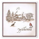 Jayne's Winter Scene - Cat <br/>Unmounted Clear Stamp Set