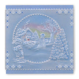 Jayne's Winter Scenes Collection A4 Square Groovi Plate Set