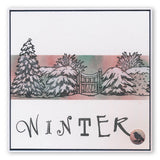 Jayne's Winter Scene - Children Large Unmounted Clear Stamp Set